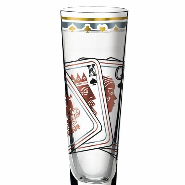 Black Label shot glass by Sascha Morawetz