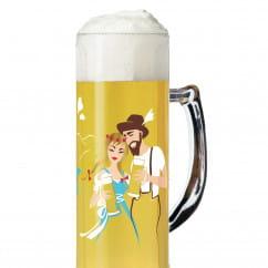 Seidel Bierkrug 0,5 l von Andrea Arnolt