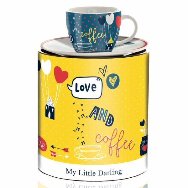 My Little Darling Espressotasse von Concetta Lorenzo