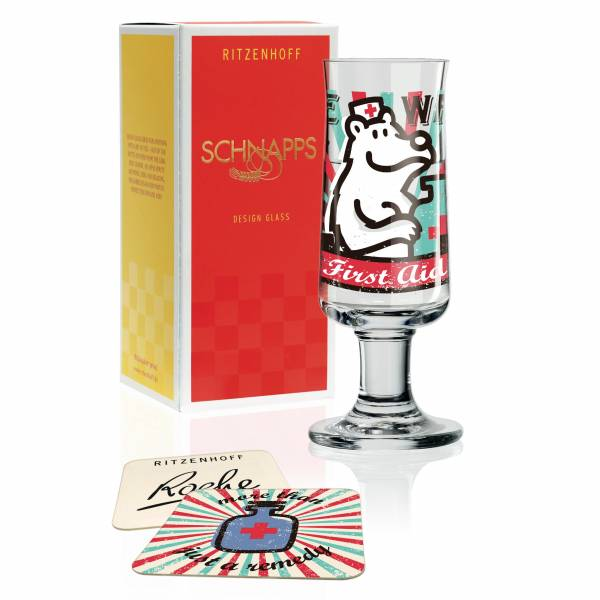 Schnapps Schnapsglas von Stephanie Roehe