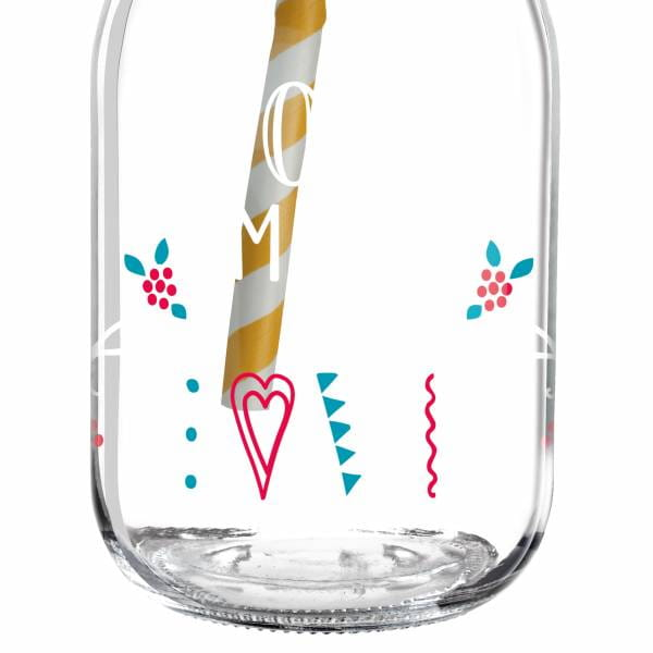 Make It Take It Smoothieglas von Michaela Koch