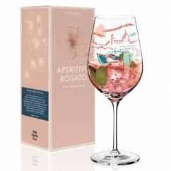 Aperitivo Rosato Aperitif Glass by Shinobu Ito