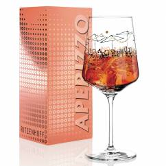 Aperizzo Aperitif Glass by Virginia Romo