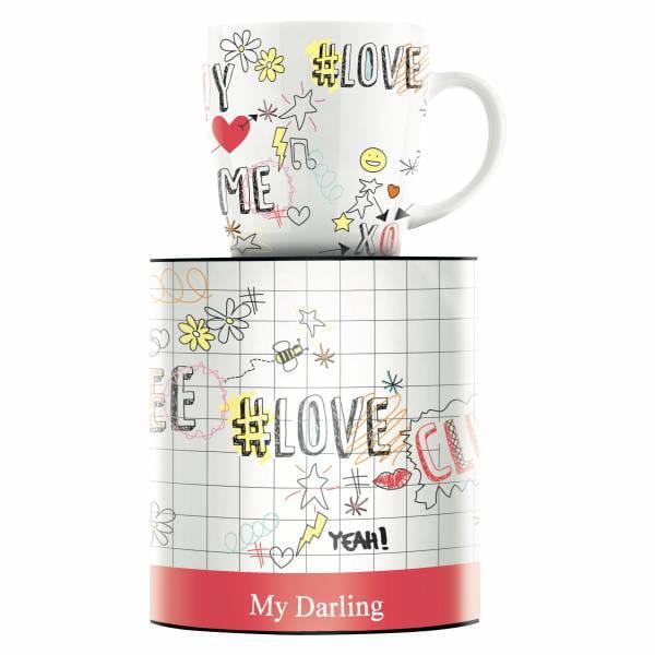 My Darling coffee mug by Concetta Lorenzo