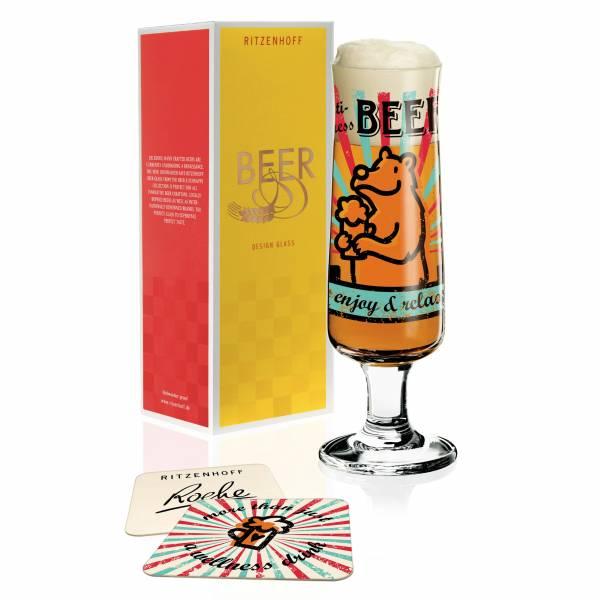 Beer Bierglas von Stephanie Roehe