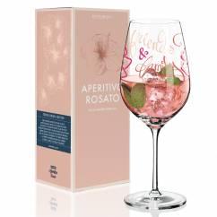 Aperitivo Rosato Aperitif Glass by Virginia Romo