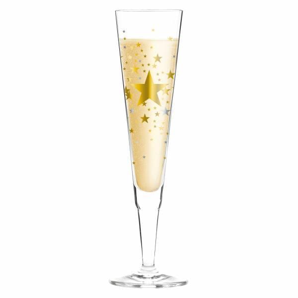 Champus Champagne Glass by Ellen Wittefeld