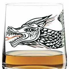 WHISKY Whiskyglas von Olaf Hajek (Nessie)