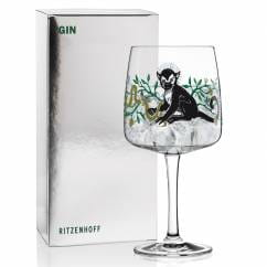 Gin Glass by Karin Rytter (King Of Monkeys)