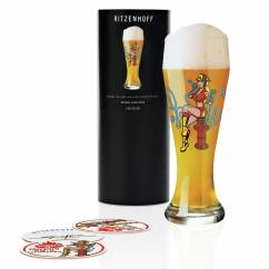Weizen Wheat beer glass by Steven Flier