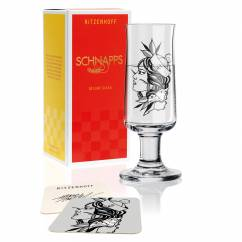 Schnapps Shot Glass by Tobias Tietchen (Sailor Girl)