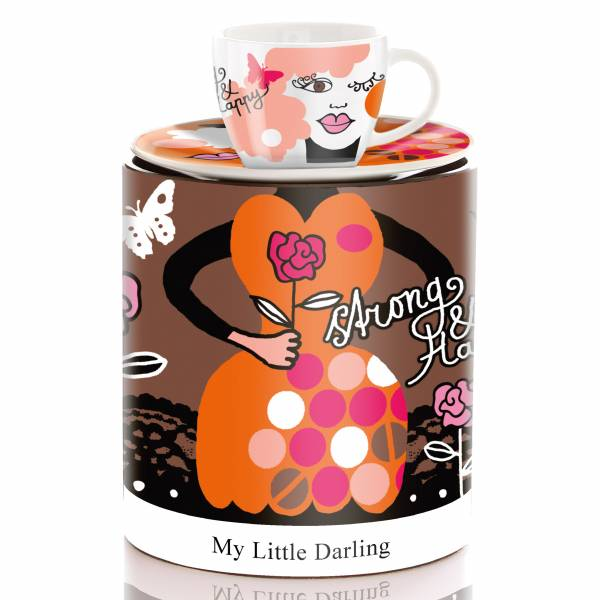 My Little Darling espresso cup by Ingrid Robers