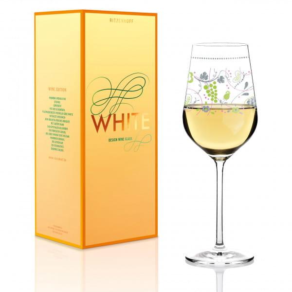 White Weißweinglas von Sandra Brandhofer