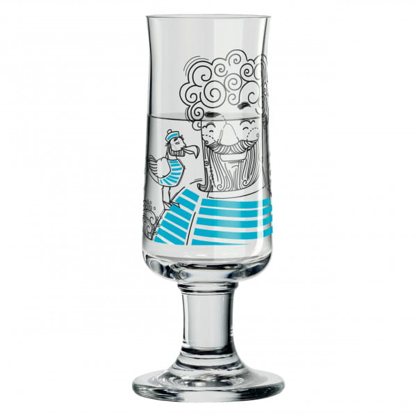 Schnapps Schnapsglas von Natalia Yablunovska