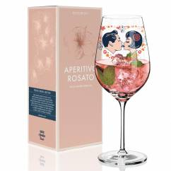 Aperitivo Rosato Aperitif Glass by Michal Shalev