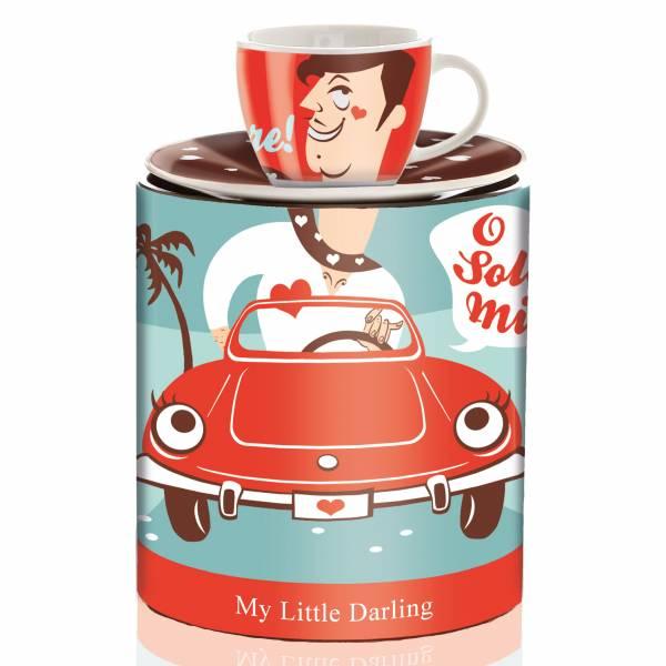 My Little Darling Espressotasse von Sabine Gebhardt