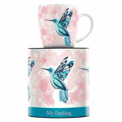 My Darling coffee mug by Marie Peppercorn