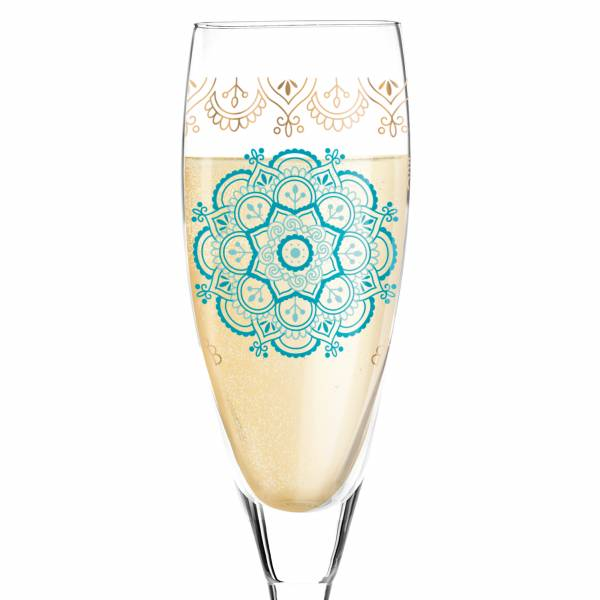 Pearls Edition Prosecco Glass by Dorothee Kupitz