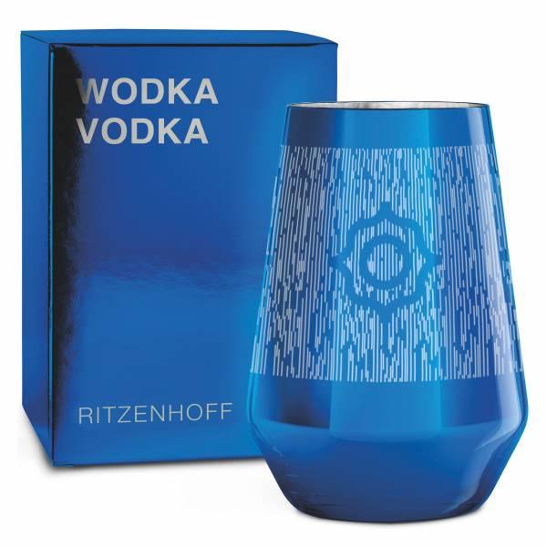 VODKA Vodkaglas von Carlo Dal Bianco (Logo)