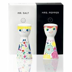 Mr. Salt & Mrs. Pepper salt and pepper set by Véronique Jacquart