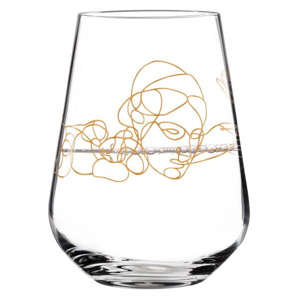 Wein-Ensemble Wasserglas-Set von Burkhard Neie (Dionysos & Pan | Zeus & Semele)