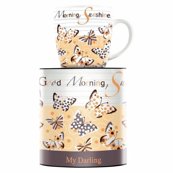 My Darling Kaffeebecher von Sandra Brandhofer