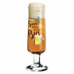 Beer Bierglas von Dominika Przybylska (Save water)