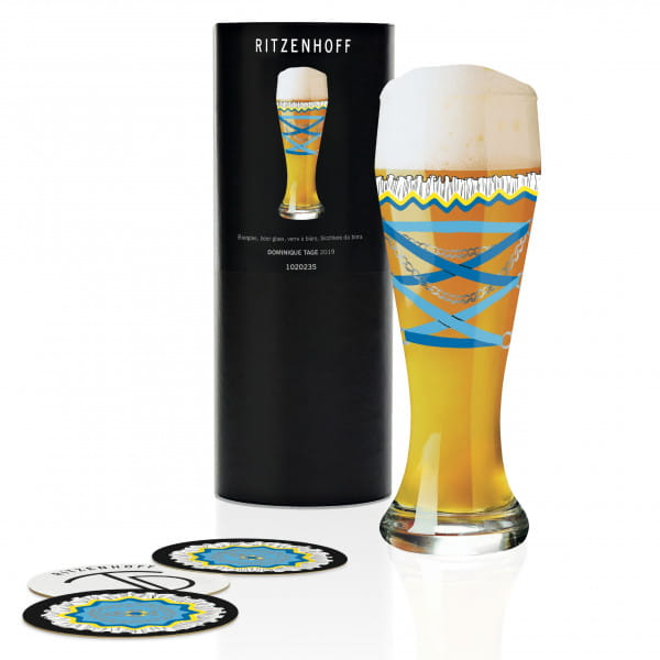 Wheat Wheat beer glass by Dominique Tage