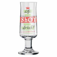 Schnapps shot glass by Hans-Christian Sanladerer