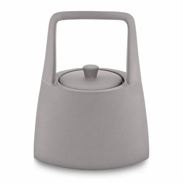 Koi sugar bowl, gray by Cheng-yu Lu