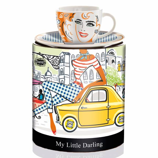 My Little Darling espresso cup by Michal Shalev