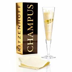 Champus Champagnerglas von Yvonne So