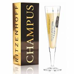 Champus Champagne Glass by Kathrin Stockebrand