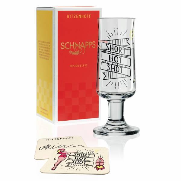 Schnapps Schnapsglas von Alice Wilson