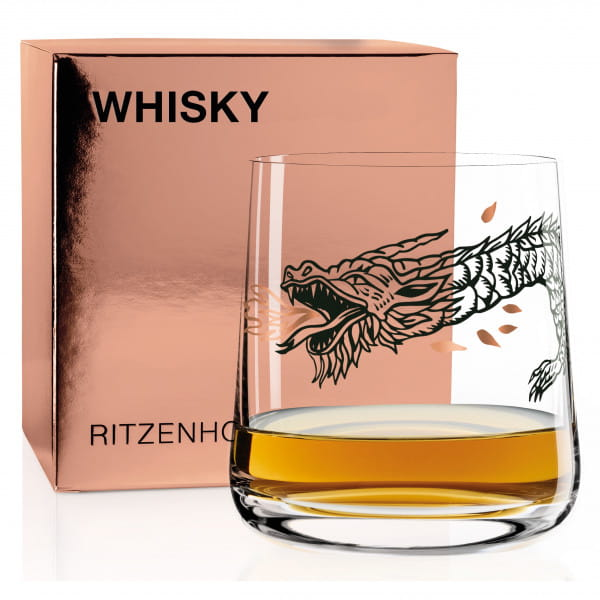 WHISKEY whiskey glass by Olaf Hajek (Ben Vair)