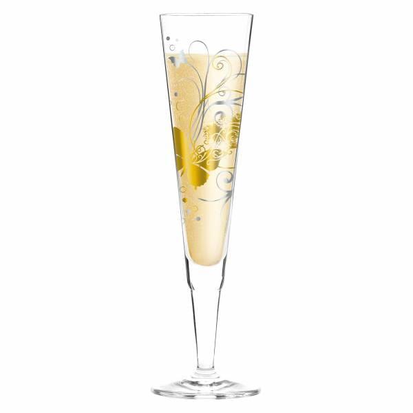 Champus Champagnerglas von Claudia Schultes