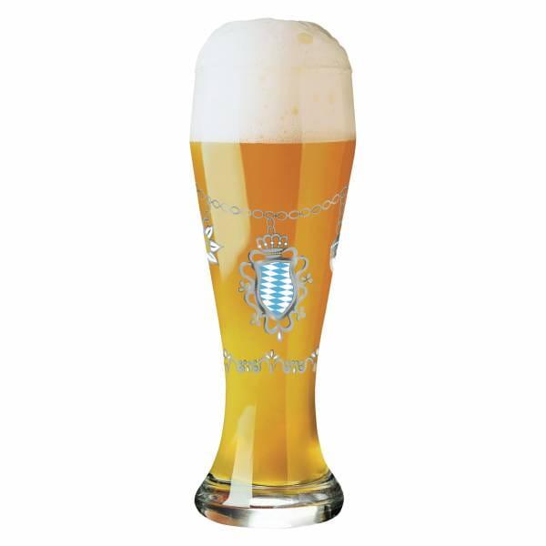 Weizen wheat beer glass by Sandra Brandhofer (Charivari)