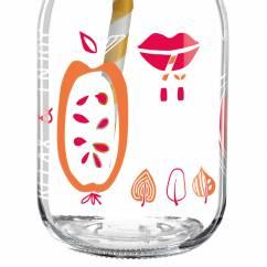Make It Take It Smoothieglas von Michal Shalev