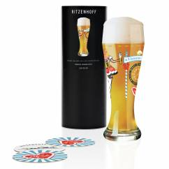 Weizen Wheat beer glass by Debora Jedwab