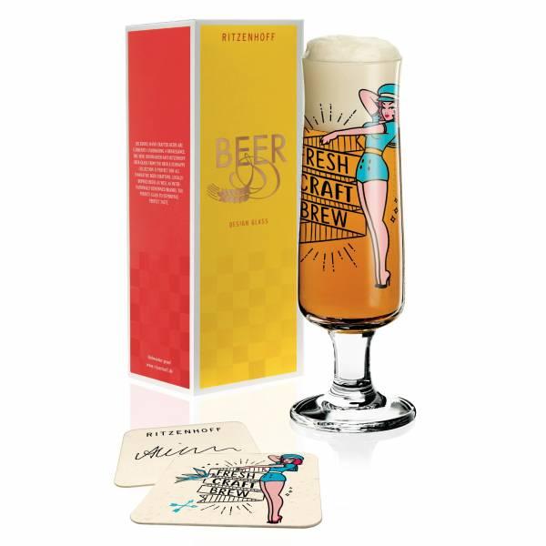 Beer Bierglas von Alice Wilson