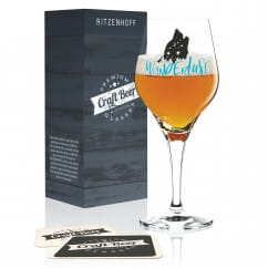 Craft Beer Bierglas von Véronique Jacquart