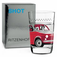 SHOT Shot Glass by Alena St. James (Frenchie)