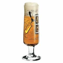 Beer glass from Shinobu Ito