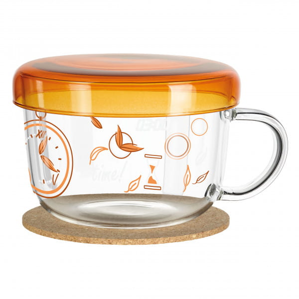 My Moment tea glass by Kurz Kurz Design