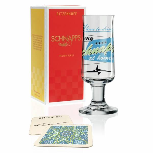 Schnapps Schnapsglas von Jürgen Esser Design