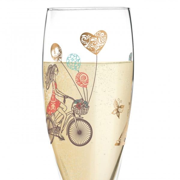 Pearls Edition Proseccoglas von Alice Wilson