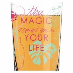 Everyday Darling soft drink glass from Virginia Romo