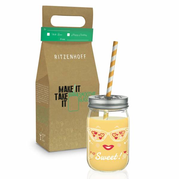 Make It Take It Smoothieglas von Nils Kunath