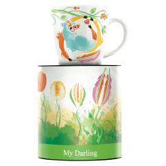 My Darling coffee mug by Petra Mohr