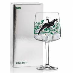 Gin Glass by Karin Rytter (Mysterious Hare)